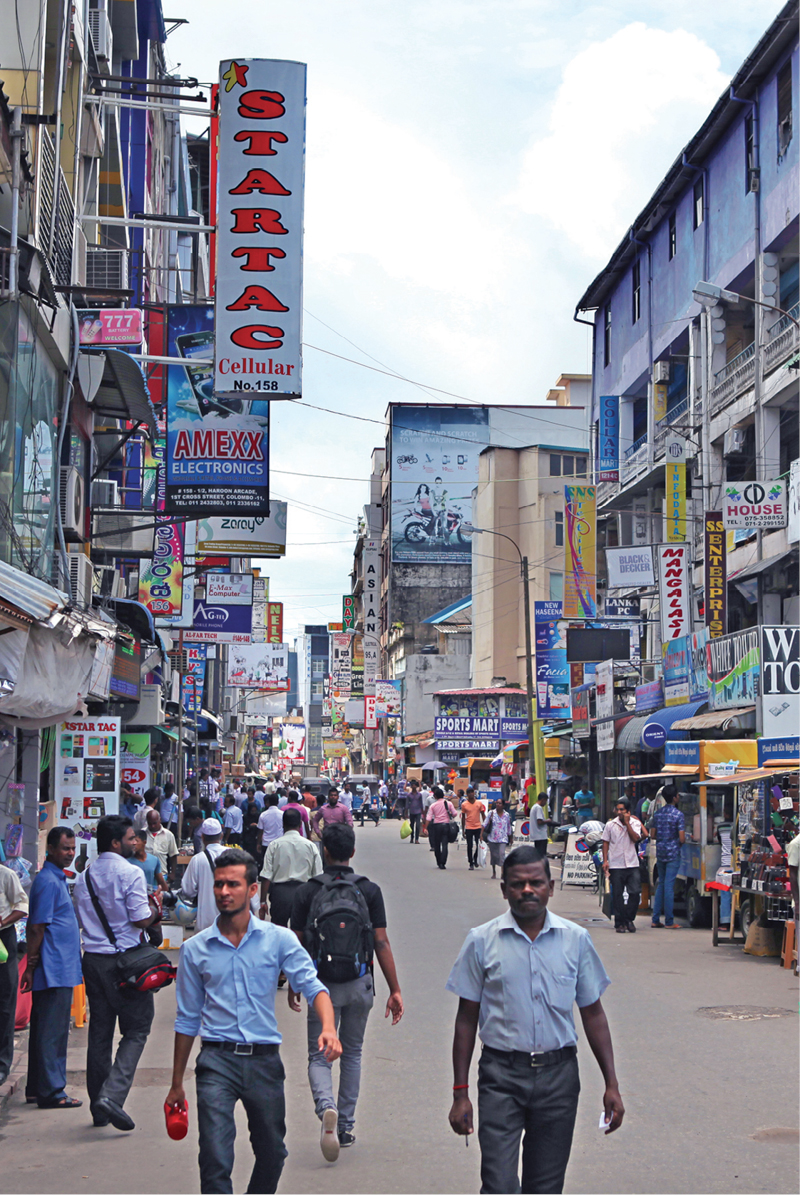Pettah Chaotic But Booming